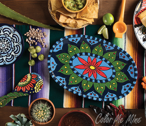 Red Deer Talavera Tableware