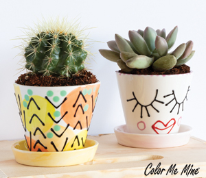 Red Deer Cute Planters