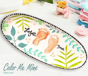 Red Deer Tropical Baby Tray
