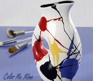 Red Deer Pop Splatter Pitcher