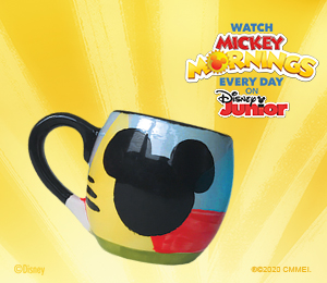 Red Deer Mickey's Bubble Mug