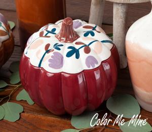 Red Deer Fall Pumpkin Box
