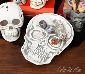 Red Deer Vintage Skull Plate