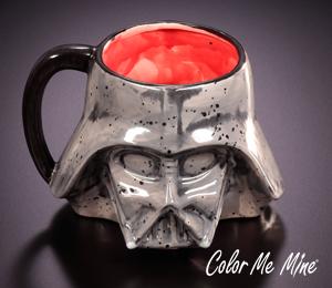 Red Deer Darth Vader Mug
