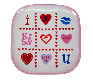 Red Deer Valentine's Tic Tac Toe