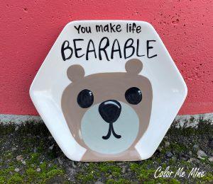 Red Deer Bearable Plate