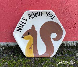 Red Deer Squirrel Plate