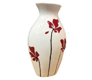 Red Deer Flower Vase