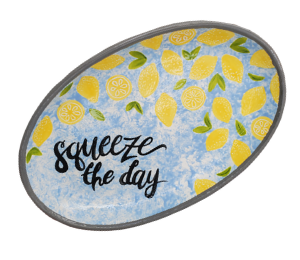Red Deer Lemon Platter
