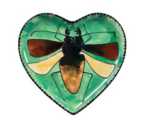 Red Deer Titan Beetle Plate