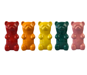 Red Deer Gummy Bear Bank
